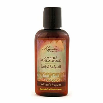 Kuumba Made Amber & Sandalwood Bath & Body Oil - 2 Oz