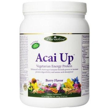 Paradise Herbs Acai Up Lean Body Protein Powder, Berry Flavor, 438 Gram