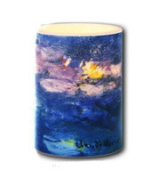 Galleria - Led Candles Galleria - Monet Water Lilies Candle 3 x 4