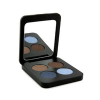 Youngblood Pressed Mineral Eyeshadow Quad Glamour Eyes 4G/0.14Oz