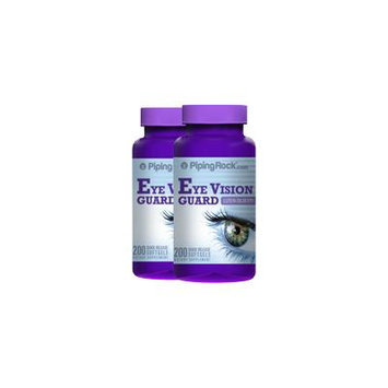 Lutein Bilberry Eye Vision Guard 2 Bottles x 200 Softgels