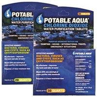 Potable Aqua Chlorine Dioxide Tablets 30 Pk