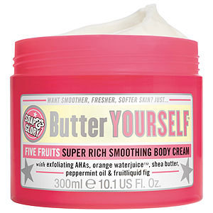 Soap & Glory Butter Yourself Five Fruits Super Rich Smoothing Body Cream, 10.1 oz