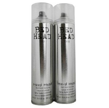 TIGI Bed Head Hard Head Hard Hold Hairspray Duo Pack, 21.2 oz