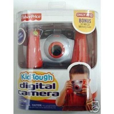 Fisher Price KID Tough Digital Camera RED w/ Bonus 32mb Sd Memory Card