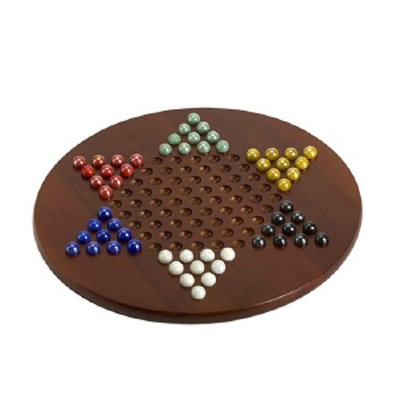 CHH Jumbo Chinese Checkers with Marbles, 15 inch, 1 ea