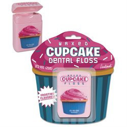 Accoutrements Cupcake Dental Floss