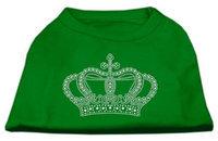Ahi Rhinestone Crown Shirts Emerald Green XL (16)