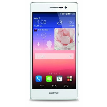 Huawei Ascend P7 Smart Cell Phone 5.0 inch Android 4.4.2 Hisilicon Kirin 910T 1.8GHz Quad Core RAM 2GB + ROM 16GB GSM (White)
