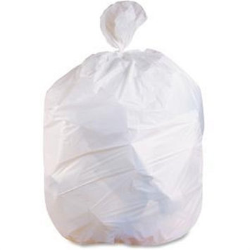 Heritage Bag Heritage .5mil Lld Extra Heavy Can Liners - 16 gal - 24 X 32 - 0.50 Mil [13 Micron] Thickness - Low Density - 500/carton - White (h4832mw)