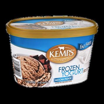 Kemps Fat Free Mocha Fudge Frozen Yogurt
