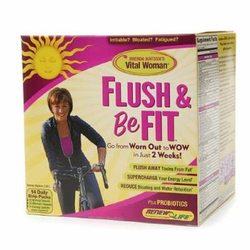 ReNew Life Flush & Be Fit, Daily Strip-Packs 14 ea