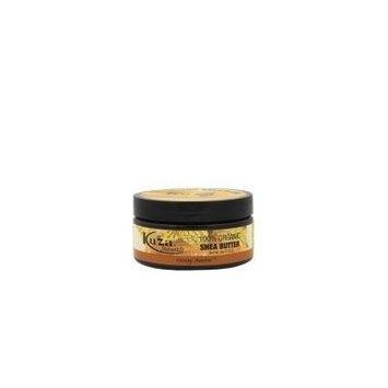 Kuza 100% Organic Shea Butter Skin, Hair, & Scalp, Nails (Honey Amber) 3oz