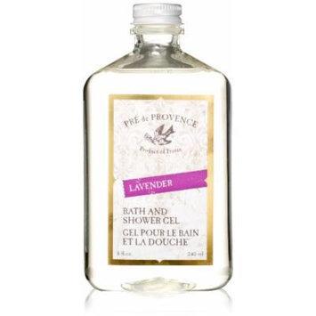 Pre De Provence Bath and Shower Gel, Lavender, 8 Fluid Ounce