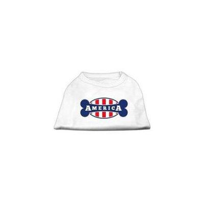 Ahi Bonely in America Screen Print Shirt White Lg (14)