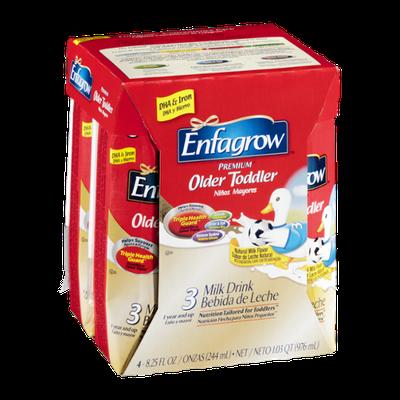 Enfagrow Premium Older Toddler Milk Drink - 3 CT