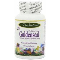 Paradise Herbs Echinacea Goldenseal Formula Vegetarian Capsules, 60 Count