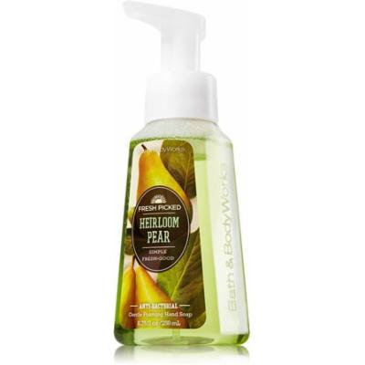 FRESH PICKED HEIRLOOM PEAR Gentle Foaming Anti-Bacterial Hand Soap by Bath & Body Works 8.75 fl oz!