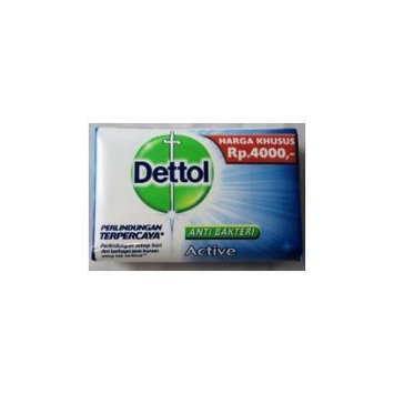 Dettol Anti-Bakteri ACTIVE bar soap-110g