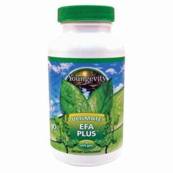 90 Softgels Ultimate EFA Plus Youngevity Fish Oil (Worldwide Shipping)