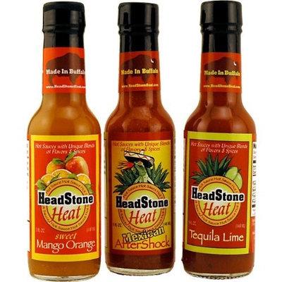 HeadStone Heat Hot Sauce Sampler Pack - Set of 3