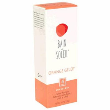 Bain de Soleil Sunscreen, Orange Gelee, SPF 4, 3.12 oz (88 g)