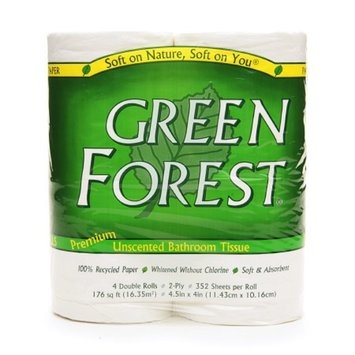 Green Forest Bathroom Tissue