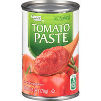 Great Value: Tomato Paste, 6 Oz