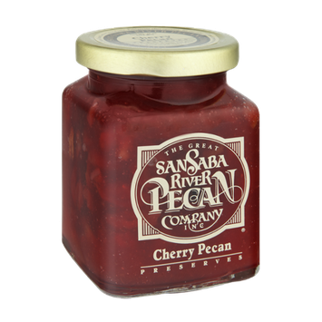 The Great San Saba River Pecan Company Cherry Pecan Preserves