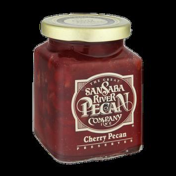 The Great San Saba River Pecan Company Cherry Pecan Preserves