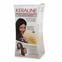Keraline Brazilian Keratin Treatment Kit 4 x 3.38 fl oz