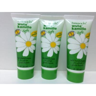 Herbacin wuta kamille Soft Hand Cream (20 ml) x 3