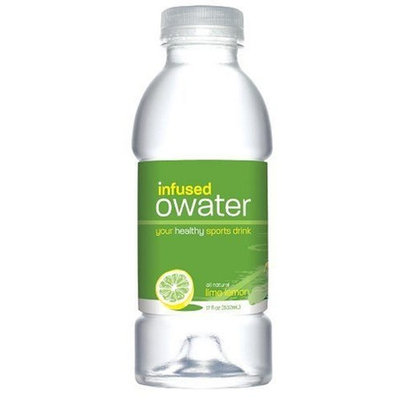 O Water O Infused Water, Replenish, Lemon Lime, Sweetened, 20-Ounce Bottle (Pack of 12)