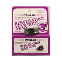 Twinlab Resveratrol Max Dots, 60 ct