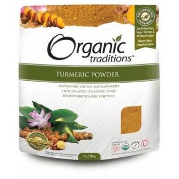 Turmeric Powder 200g -Raw Food Diet- Brand: Organic Traditions
