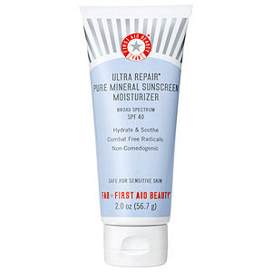 First Aid Beauty Ultra Repair(R) Pure Mineral Sunscreen Moisturizer Broad Spectrum SPF 40 2 oz