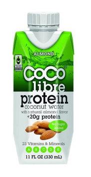 Coco Libre Protein Coconut Water Almond 11 fl oz