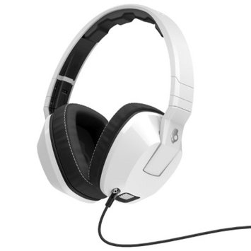 Skullcandy Crusher Over-the-Ear Headphone with Mic - White (S6SCFZ-