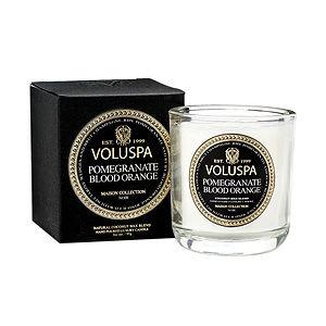Voluspa(r) Boxed Votive Candle - Pomegranate Blood Orange by Voluspa