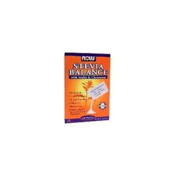 Stevia +Inulin Single Serve (100Packs) Brand: Now (Also Search By Category: Now)