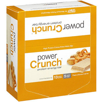Power Crunch Peanut Butter Creme Filled Wafer Protein Energy Bars