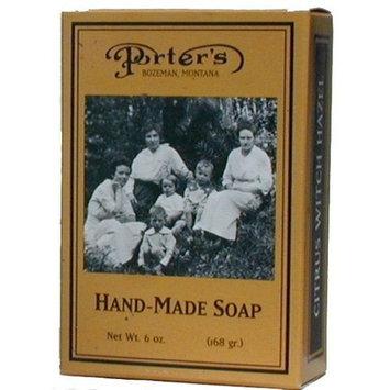 Porter's Large Citrus Bar Soap