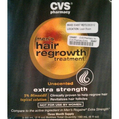 CVS Hair Regrowth treatment for men