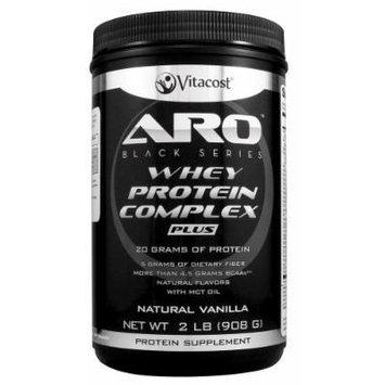 ARO-Vitacost Black Series Whey Protein Complex PLUS Natural Vanilla -- 2 lb (908 g)