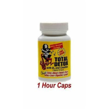 Total Detox with B2 and Creatine - 4 Caplets/750mg Ea