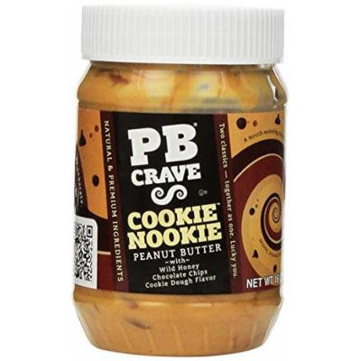 PB Crave Cookie Nookie Premium Peanut Butter, 16-Ounce (Pack of 3)