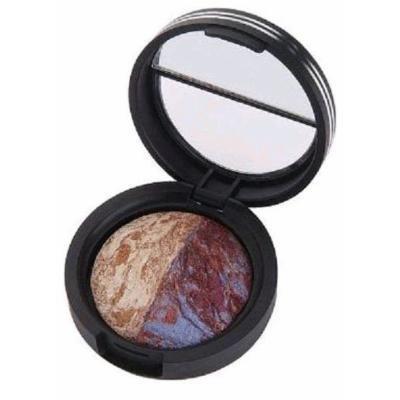 Laura Geller Baked Marble Eyeshadow Duo Rome/Milan.06 oz/1.8g Travel Size