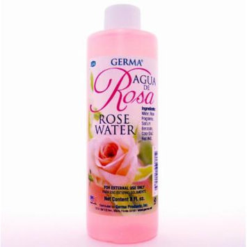 ROSE WATER Agua de Rosas Flower Water Skin Face Facial toner Cleanser 8 Fl. Oz.