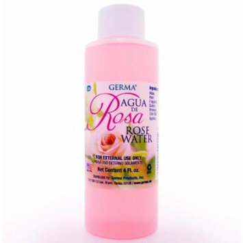 ROSE WATER Agua de Rosas Flower Water Skin Face Facial toner Cleanser 4 Fl. Oz.
