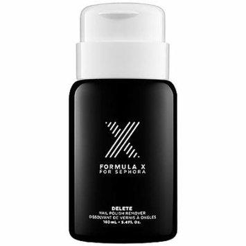 Delete Nail Color Remover Formula X for Sephora 5.4 Oz